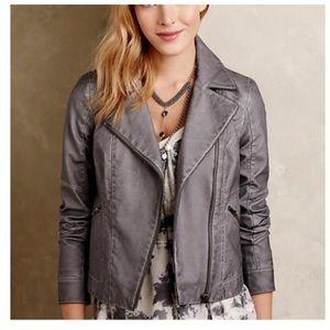 Anthropologie Hei Hei Vegan Leather Jacket